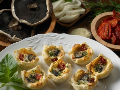 Goat Cheese and Spinach Turnover: Vegetarian Appetizers for Parties ...