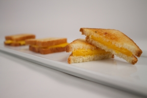 Grilled American Cheese Sandwich