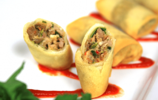 Roast Pork Spring Roll