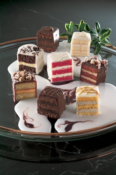 chocolate lovers petit fours