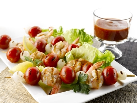 Grilled Shrimp Tomatoes
