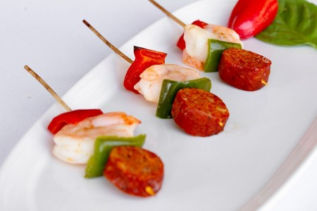 Andouille Sausage & Shrimp Kabob **temporarily out of stock**