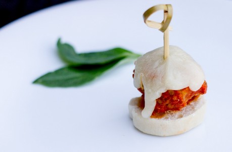 Italian Meatball Parmesan Skewer***Temporarily out of stock***