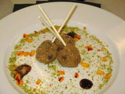 Moroccan Lamb Lollipops