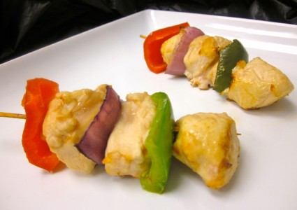 Chicken & Vegetable Kabob