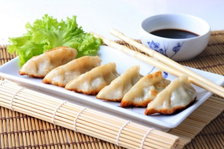 Teriyaki Chicken Dumplings