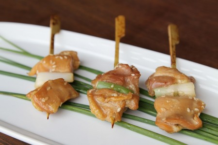 Yakitori Chicken Satay (Tray 25 pieces)  **out of stock**