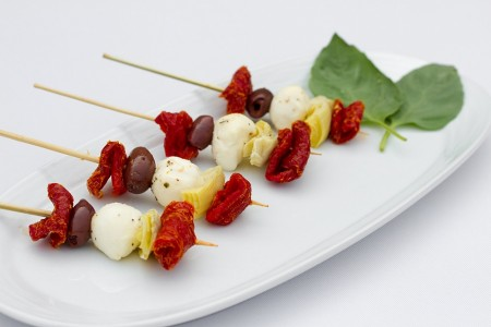 Antipasto Kabobs with Mozzarella