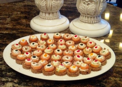 Smoked Salmon Pinwheels *temporarily out of stock*