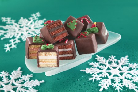 Holiday Chocolate Petit Fours