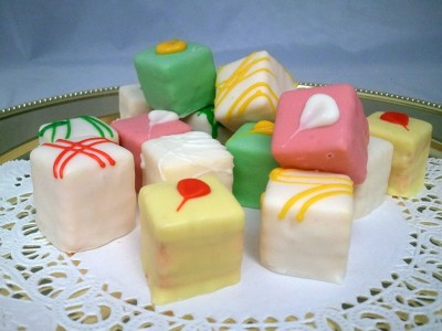 Passion Fruit Petit Fours***Temporarily out of stock***