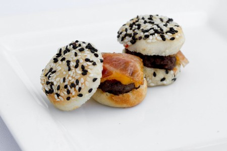 Mini Burger with Bacon & Cheddar Cheese***Temporarily out of Stock***