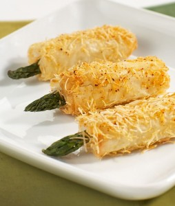Crispy Asparagus with Asiago