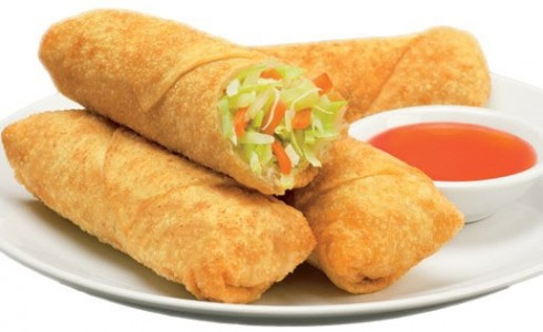 Mini Vegetable Egg Rolls