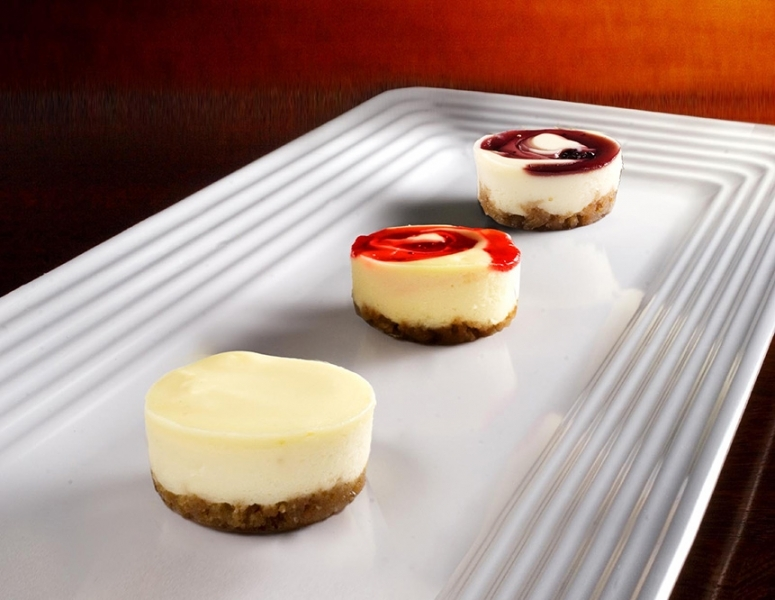 tropical cheesecake assortment